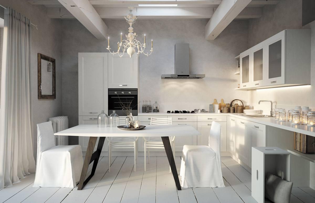 Cucina legno Siena, Cucine legno moderne Siena, Cucine moderne in ...