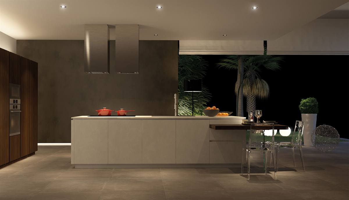 Cucine open space moderne Fiesole, Cucine soggiorno open ...